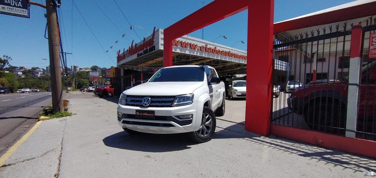 amarok 3.0 v6 tdi highline cd diesel 4motion automatico 2018 caxias do sul