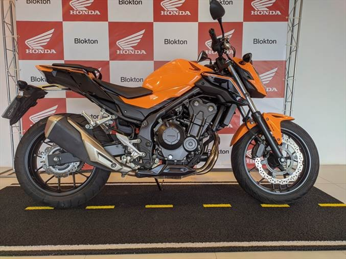 Honda cb 500 500f abs laranja gasolina p manual 2019
