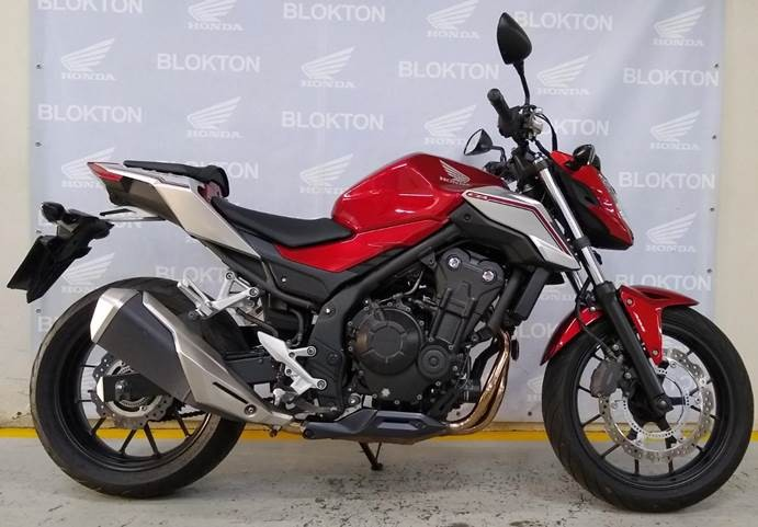 Honda cb 500 500f gasolina p manual 2019