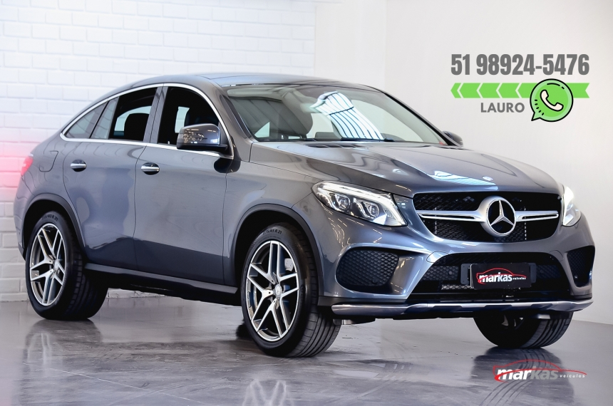 MERCEDES-BENZ GLE 400 3.0 V6 GASOLINA COUPE 4MATIC 9G-TRONIC