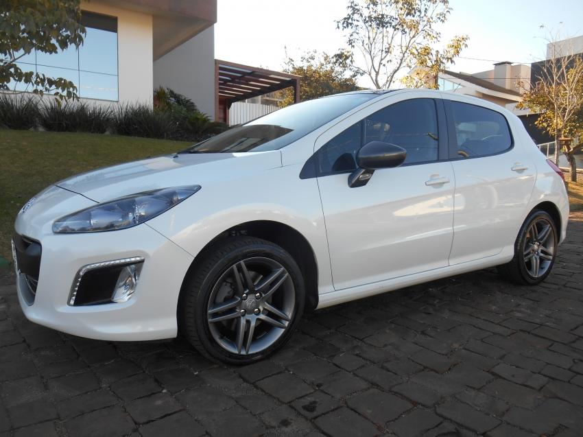 308 1.6 feline thp 16v gasolina 4p automatico 2015 passo fundo