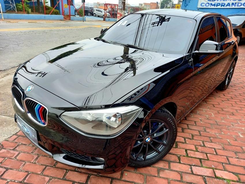 Usado BMW 116I 1.6 16V TURBO GASOLINA 4P AUTOMATICO - Ano 2013/2014