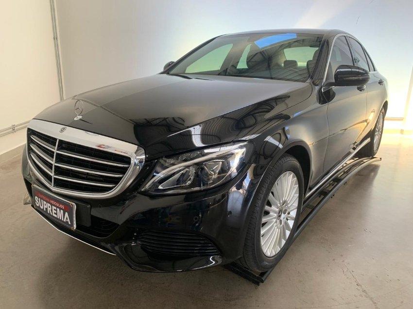 Mercedes c 180 exclusive 9-gtronic flex 4p automatico 2018