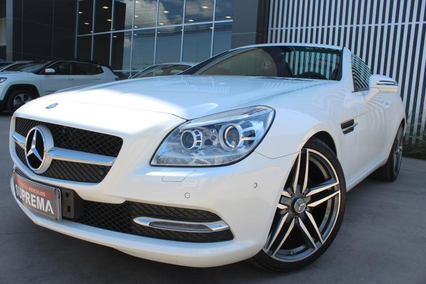 Mercedes slk 300 gasolina 4p automatico 2016
