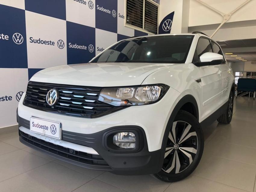 Image Volkswagen T-Cross Comfortline 200 Tsi Flex 4p Automatico 2021