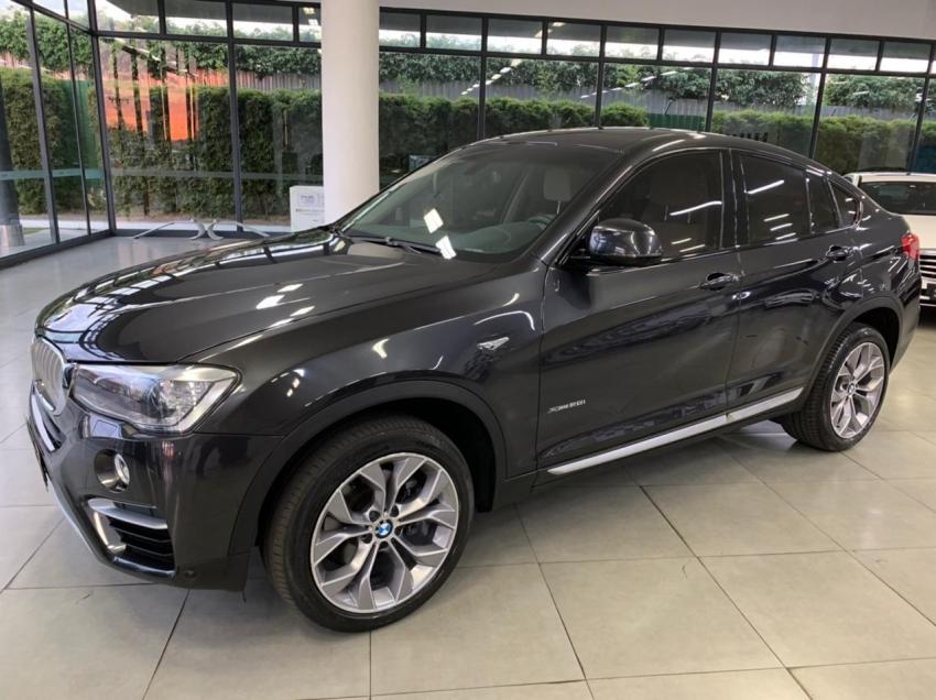 Bmw x4 xdrive 28i 2.0 gasolina 4p automatico 2018