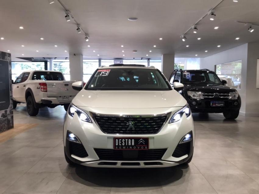 Image Peugeot 5008 Griffe Thp Gasolina 4p Automatico 2019