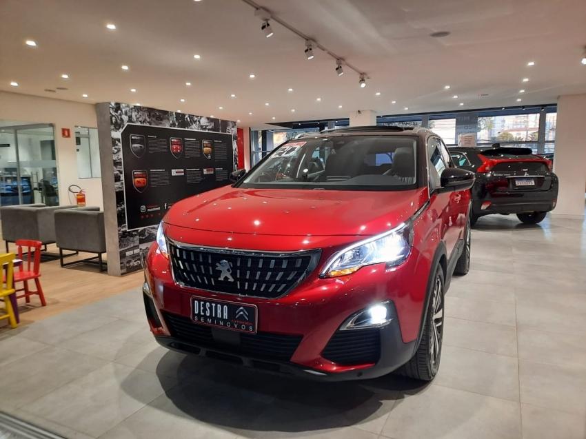 Image Peugeot 3008 Allure Teto Gasolina 4p Automatico 2020