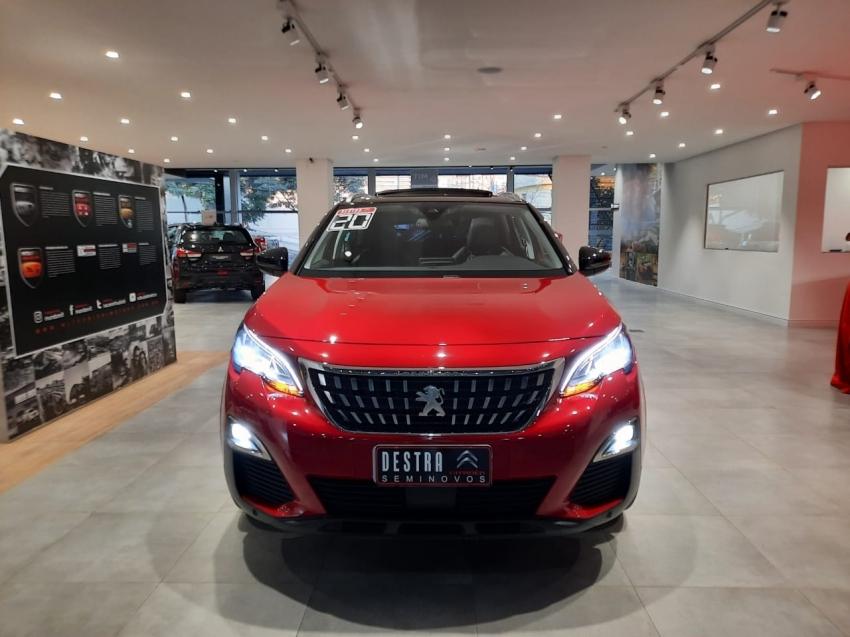 Peugeot 3008 Allure Teto Gasolina 4p Automatico 2020