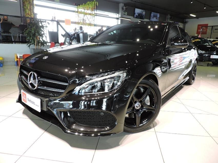 Mercedes c 300 sport turbo 2.0 gasolina 4p automatico 2018