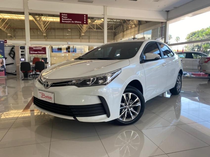 Toyota corolla 1.8 gli upper 16v 2019 flex 4p automatico