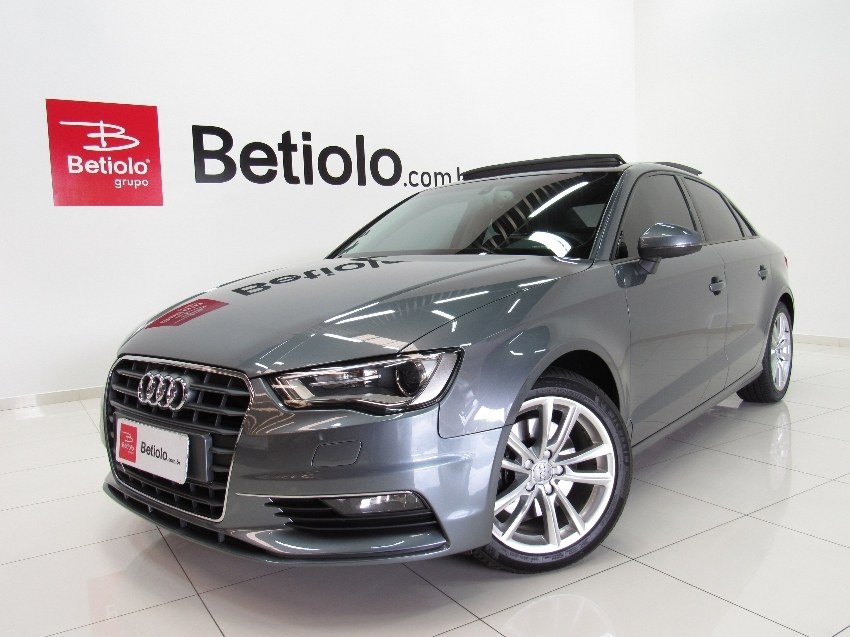 Audi a3 1.8 tfsi ambition 20v 180cv 2015 gasolina 4p automatico
