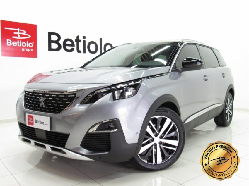 Peugeot 5008 griffe at 1.6 turbo 2020 gasolina 4p automatico