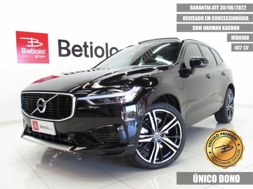 Volvo xc 60 2.0 t8 hibrido r-design awd geartronic 2020 4p automatico