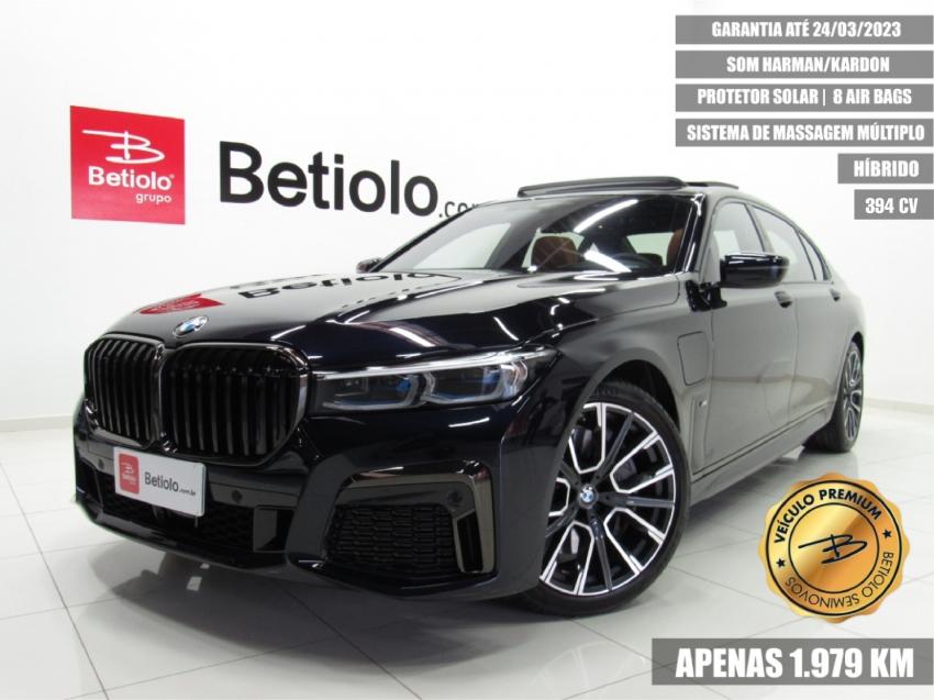 Seminovos certificados BMW 745Le 3.0 TWINPOWER HÍBRIDO M SPORT AUTOMÁTICO