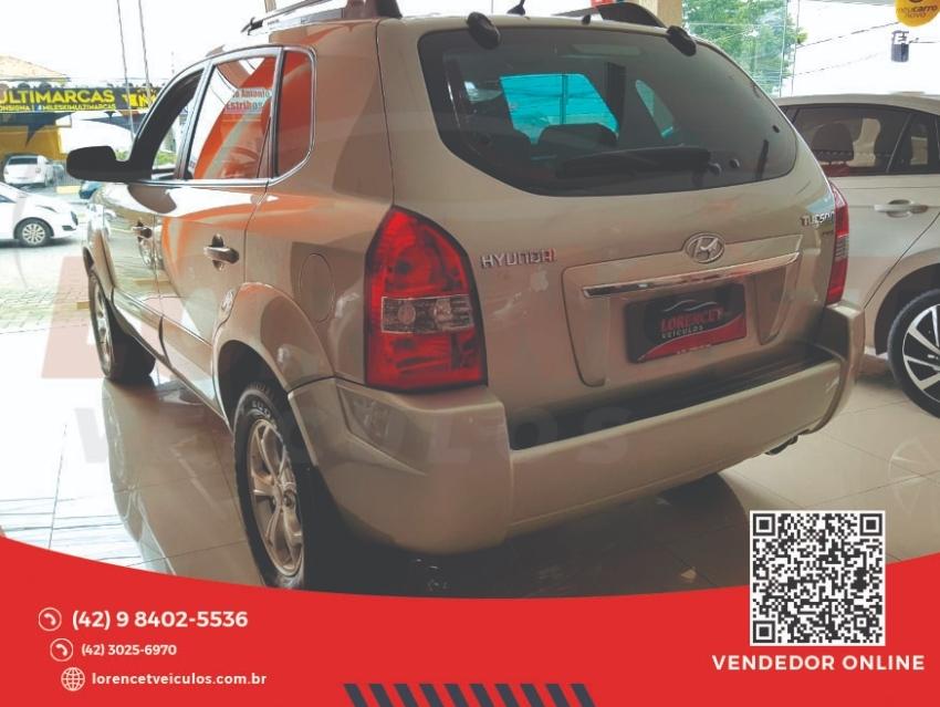 Usado HYUNDAI TUCSON 2.0 MPFI GLS 16V 143CV 2WD FLEX 4P AUTOMATICO - Ano 2013/2013
