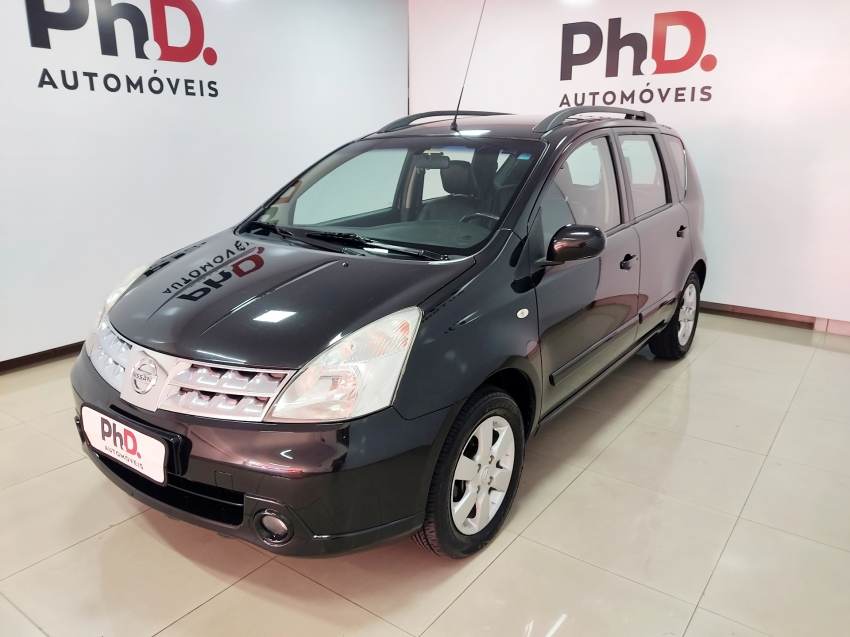Nissan livina sl 1.8 flex 4p automatico 2012