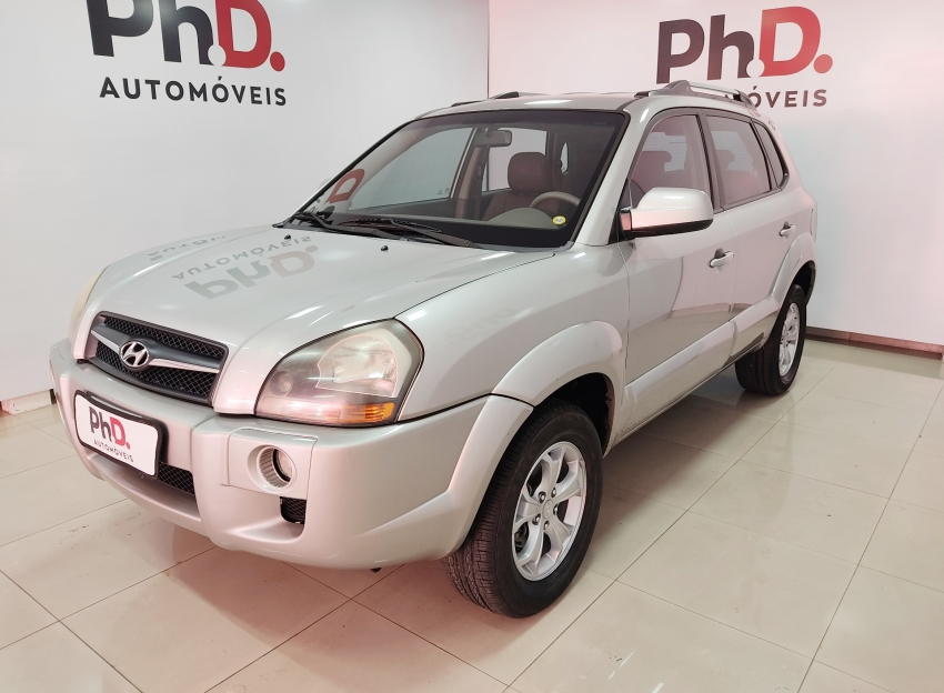 Hyundai tucson gl 2.0 gasolina 4p manual 2010