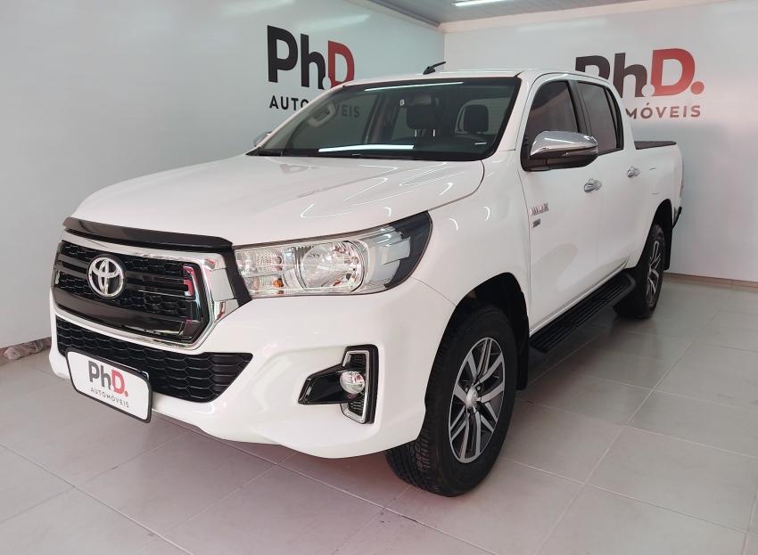 Toyota hilux cabine dupla srv 2.7 flex 4p automatico 2020