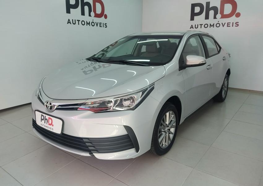 Toyota corolla gli upper 1.8 flex 4p automatico 2019