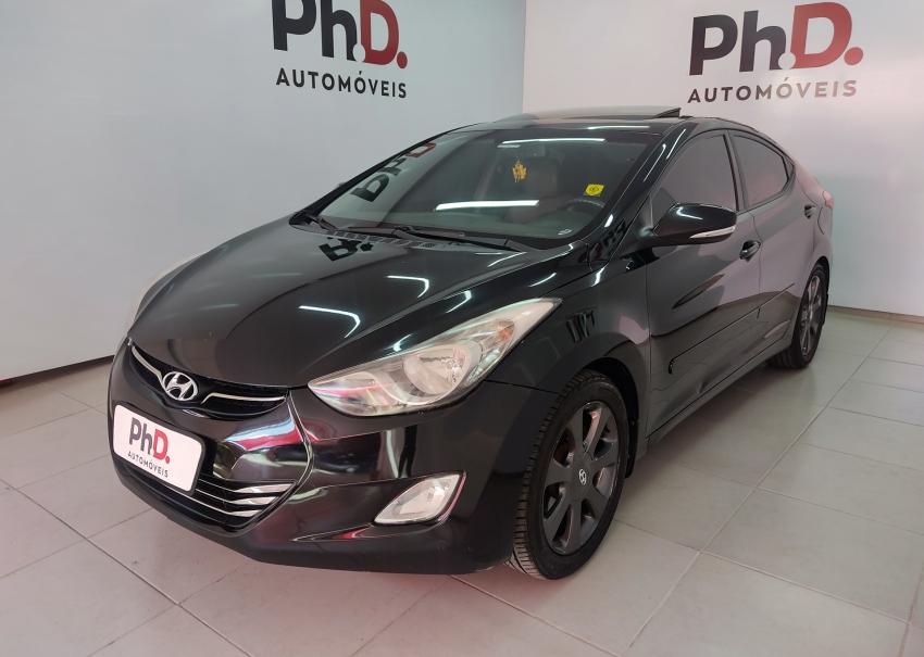 Hyundai elantra gls 1.8 gasolina 4p automatico 2013