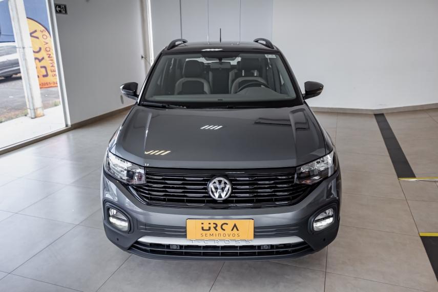 Volkswagen t-cross 1.0 200 tsi total flex automatico 9.9 4p 2021
