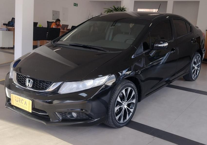 Honda civic 2.0 lxr 16v flex 4p automatico 2016