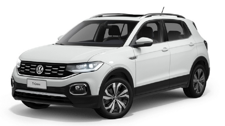 Image Volkswagen T-Cross Comfortline Flex 4p Automatico 2021