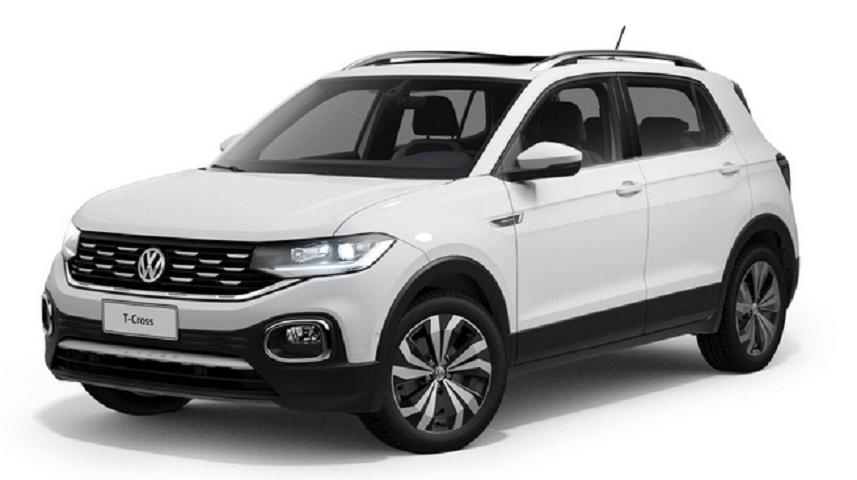 Image Volkswagen T-Cross Comfortline 1.0 Flex 4p Automatico 2021