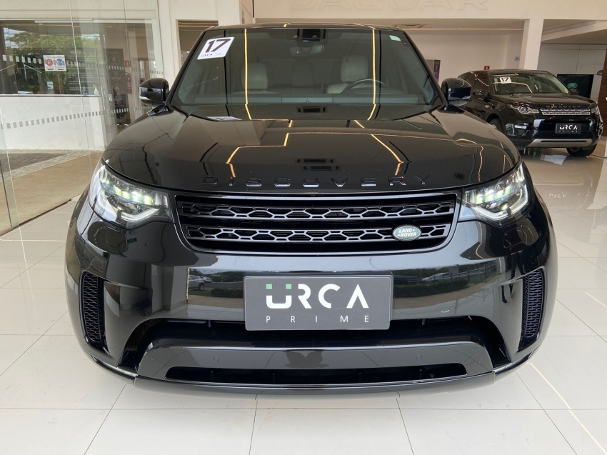 Land rover discovery se 7 lugares diesel 5p automatico 2017