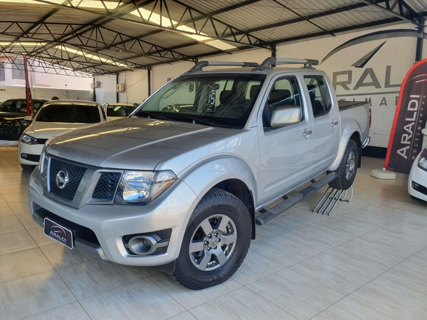 frontier 2.5 sv attack 4x4 cd turbo eletronic diesel 4p manual 2015 lagoa vermelha